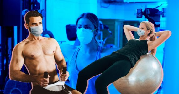 Personal measures you can take to stay safe when gyms reopen
