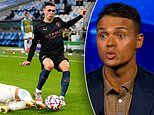 Jermaine Jenas in AWE of Phil Foden's incredible take down in Manchester City's win over Marseille
