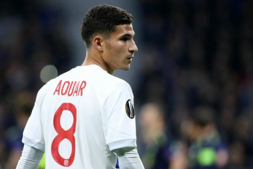 Lyon chief drops BIGGEST hint yet over selling Houssem Aouar to Arsenal