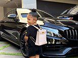Kylie Jenner shares snap of Stormi wearing $12,000 Hermes backpack for first day of home school