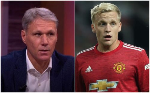 Marco van Basten tells Donny van de Beek he should not have signed for Manchester United