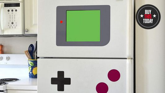 Buy this today: magnets that turn your refrigerator into a Game Boy