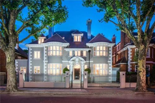 Eight-bedroom home with its own wine cellar and cinema goes on sale for £28.5million