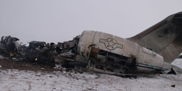 Iranian state media cited a nonexistent Associated Press report to claim 'nearly 100 corpses' were found after a US military plane crash in Afghanistan