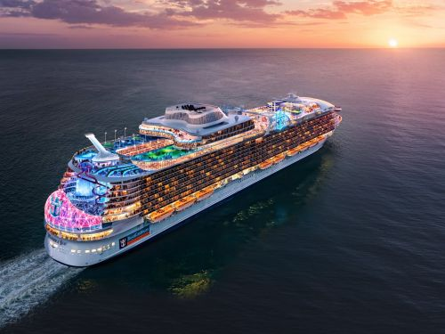 Royal Caribbean is building the new world's largest cruise ship despite the pandemic still halting sailings -see the Wonder of the Sea