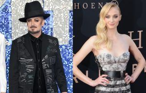 Boy George says people would be upset if Sophie Turner played him in his biopic because she's a woman