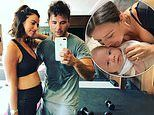 Lucy Mecklenburgh 'is accused of copying a rival brand when relaunching fitness empire'