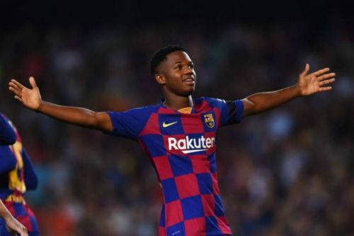 Barcelona could loan out wonderkid Ansu Fati next season