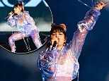 Charli XCX dons jumpsuit as she supports Taylor Swift in Perth