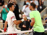 Rafael Nadal tells Novak Djokovic off for hurling his racket into the stands in Olympic bronze match