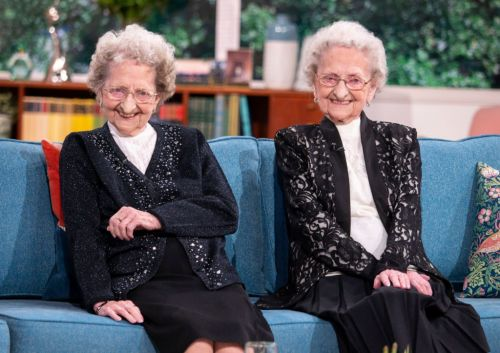 One of Britain's oldest twins thanks Piers Morgan for flowers after identical sister dies of Covid-19