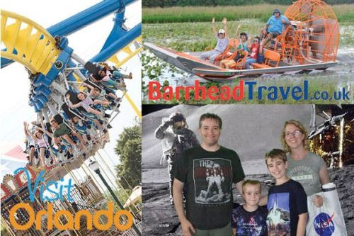 Orlando holidays are a rollercoaster ride of theme parks and family fun