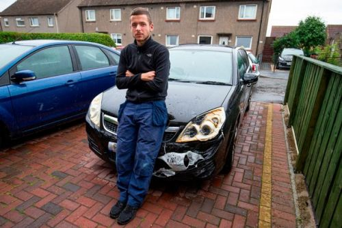 Scottish Power substation blast melts joiner's car but firm won't pay for £2500 of damage