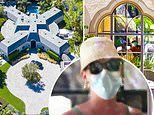 Pregnant Katy Perry and fiance Orlando Bloom go house hunting and check out THREE sprawling estates