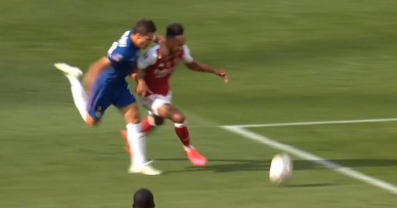 : Arsenal's penalty given for foul that began outside the box