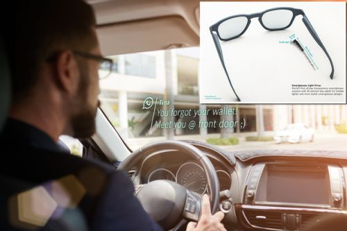 Bosch smart-glasses display your WhatsApp messages in front of your eyes