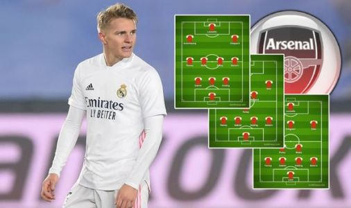 How Arsenal could line up with Martin Odegaard as Gunners 'very close' to loan deal