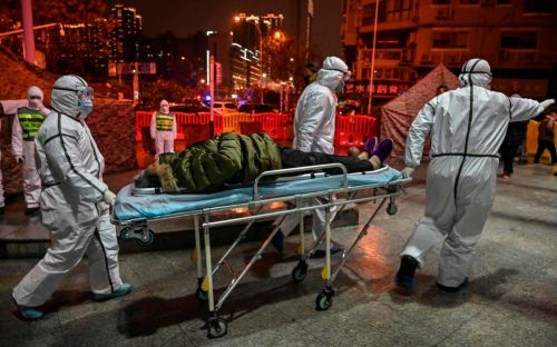 Deadly coronavirus reaches Europe: in pictures