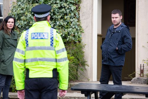 Emmerdale spoilers: Aaron Dingle is taken in by police after violent attack