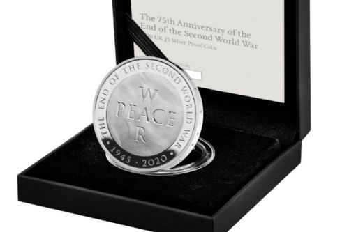 Royal Mint launches new £5 coin marking 75 years since end of Second World War