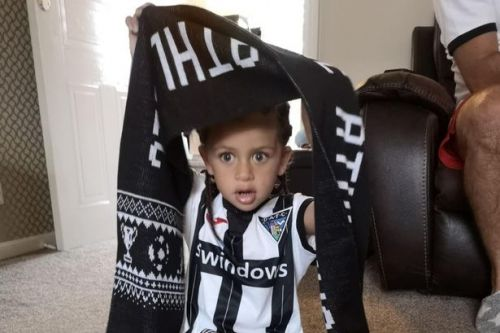 Scots toddler who cheated death showered with gifts from beloved team