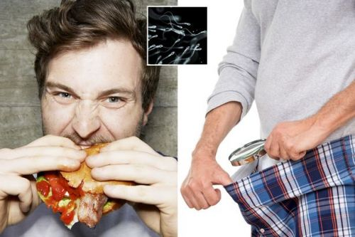 Men who eat junk food are more likely to have low sperm count, says study