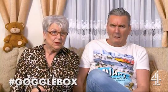 Gogglebox's Lee Riley left horrified by Jenny Newby's thirst for Martin Compston