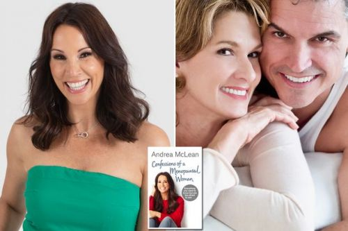 Andrea McLean's step-by-step guide to revitalising your sex life after the menopause even if you think you never want it again