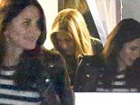 Jennifer Aniston has a girls' night with longtime BFF Courteney Cox in LA