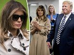 Melania to take first plane trip since her kidney operation and join Trump on official visit to UK