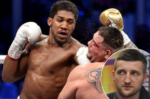 Carl Froch outlines what Anthony Joshua must do to become best heavyweight in world