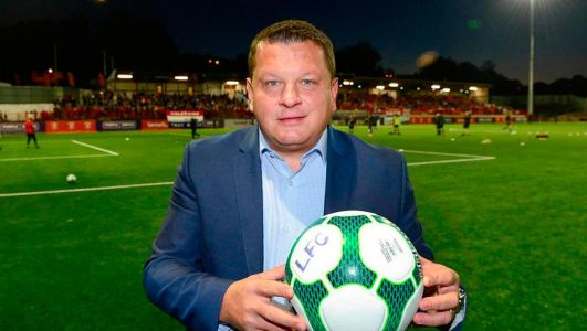 Political football: Larne FC boss caught in Twitter row after praising PM Johnson