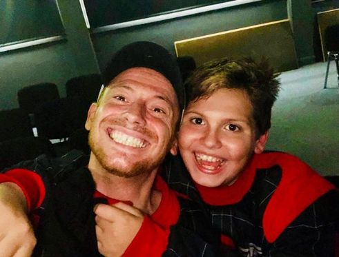 Joe Swash makes heartbreaking plea for car thieves to return his son's school project