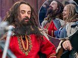 Ant McPartlin and Declan Donnelly film medieval segment for Saturday Night Takeaway