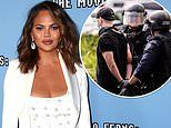 Chrissy Teigen donates $200K to freeing citizens arrested while protesting death of George Floyd