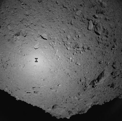 Japan's Hayabusa2 lands two rovers on asteroid Ryugu