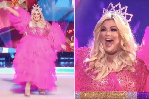 Gemma Collins wows as a festive pink fairy in Dancing On Ice Christmas teaser