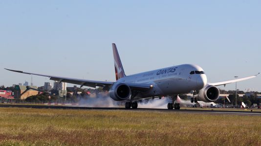 Qantas' over 19 hour New York to Sydney test flight touches down