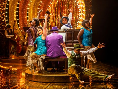 Strictly star Oti Mabuse adds sparkle to Fats Waller musical Ain't Misbehavin'
