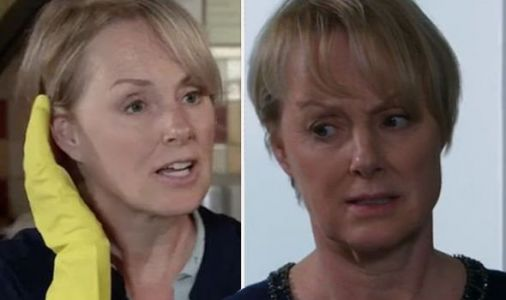 Coronation Street spoilers: Sally Metcalfe leaves fans baffled with bizarre outfit choice