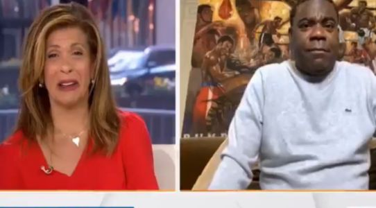 Today's Hoda Kotb left horrified on live TV after Tracy Morgan says he impregnated his wife three times during isolation