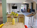 Your Home Made Perfect couple go £16,000 over their £20,000 budget while transforming 1950s home