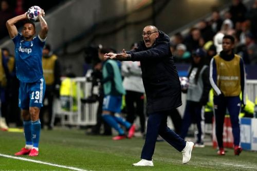 Maurizio Sarri blasts Juventus players after Champions League defeat to Lyon