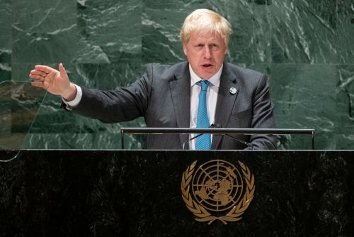 Boris Johnson Swiftly Put Down After His Climate Speech: 'Speak For Yourself Mate'