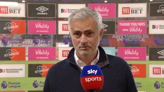 Jose Mourinho says Michael Oliver was Bournemouth's Man of the Match vs Tottenham and slams penalty non-call