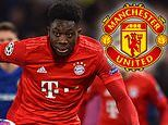 Manchester United missed out on signing Bayern Munich star Alphonso Davies