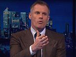 Jamie Carragher lambasts Manchester United display against Everton