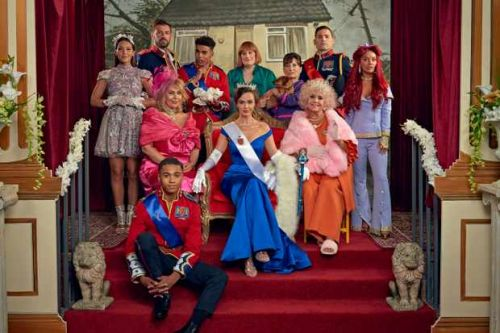 The Crown meets Hollyoaks in McQueen spoof 'royal wedding' invitation