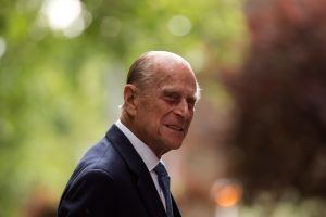 A sweet video of Prince Philip surprising a reporter on live TV is going viral