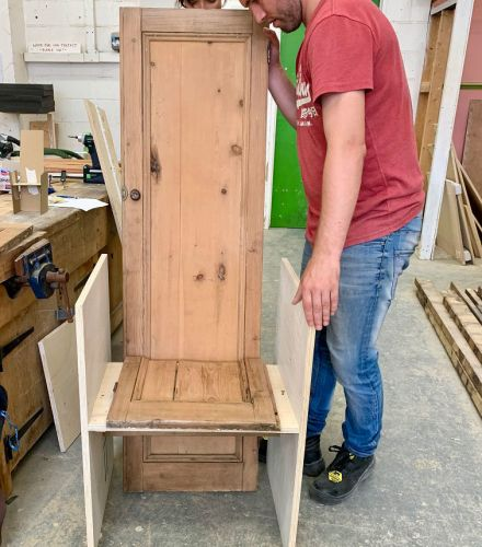 Homeless people are making furniture that will be shown off at the V&A